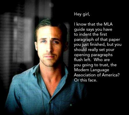 ryan gosling typographer